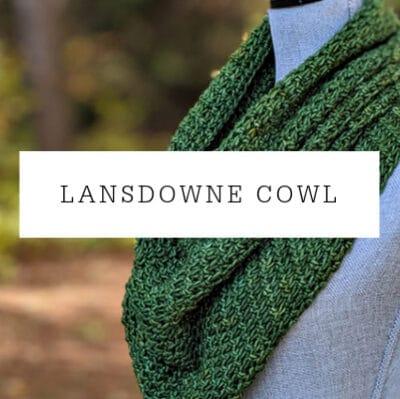 Lansdowne Cowl Crochet Pattern
