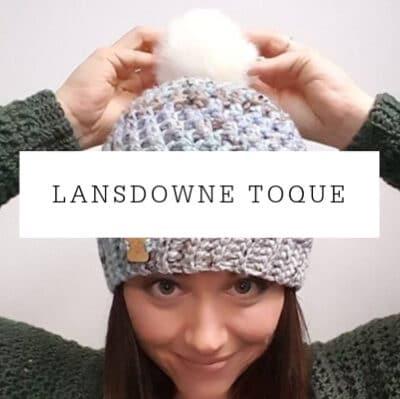 Lansdowne Toque Crochet Pattern