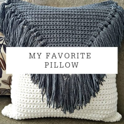 My Favorite Pillow | Crochet Pattern