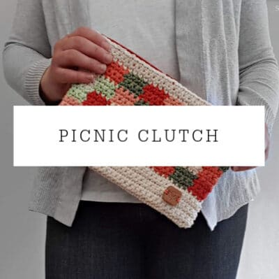 Picnic Clutch | Crochet Pattern