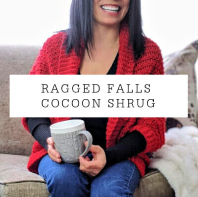 Ragged Falls Cocoon Shrug Ladies Sizes