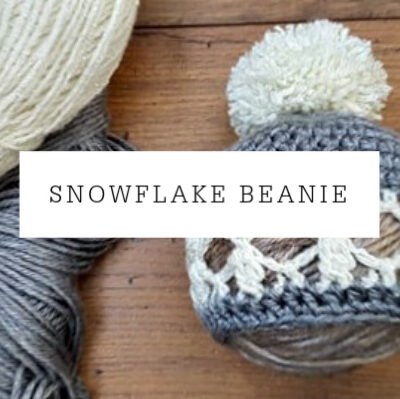 Snowflake Beanie | Free Pattern