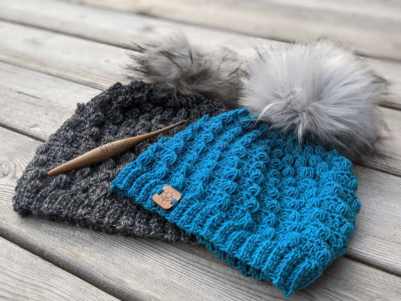 free elmview beanie crochet pattern by sincerely pam
