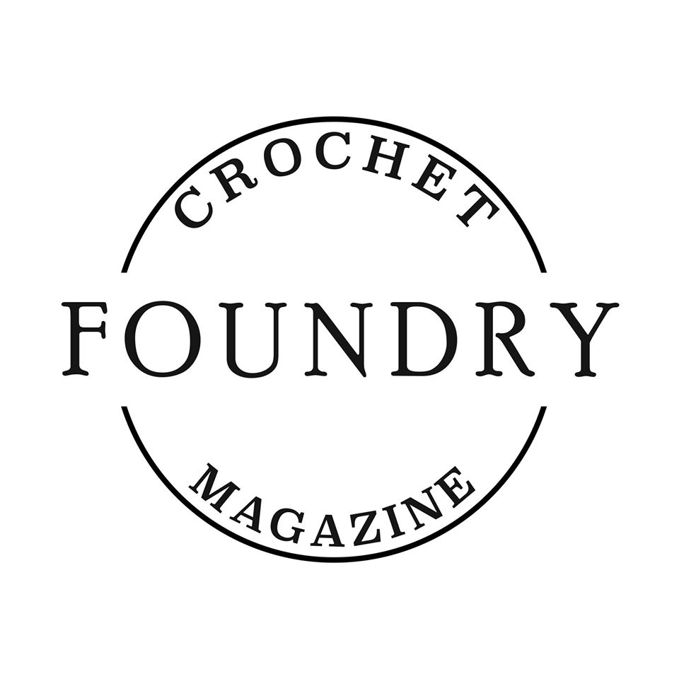 crochet foundry magazine logo