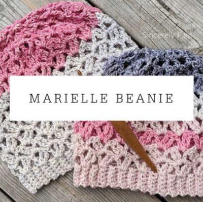 Marielle Lace Slouch Crochet Pattern