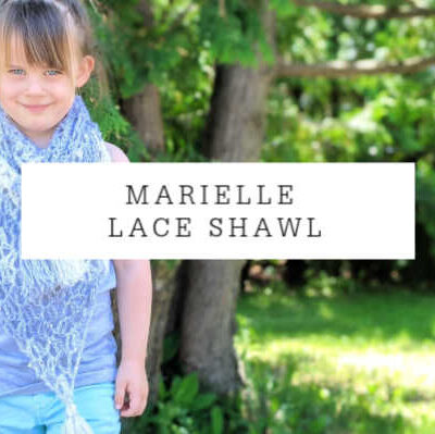 Marielle Lace Shawl Crochet Pattern