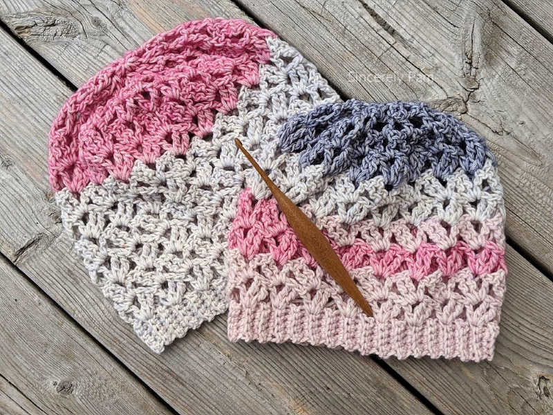 Marielle Slouch crochet pattern by Sincerely Pam