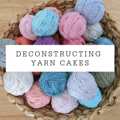 Deconstructing Self-Striping Yarn Cakes