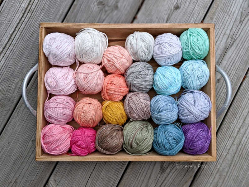 loops and threads cotton colors