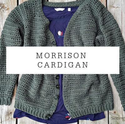 Morrison Cardigan Premium Crochet Pattern