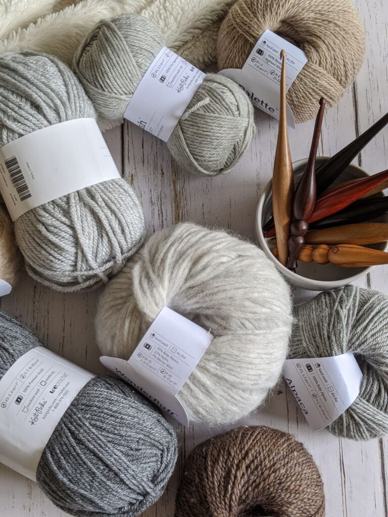 the wecrochet yarn featured in the fall 2020 digital issue of crochet foundry magazine.