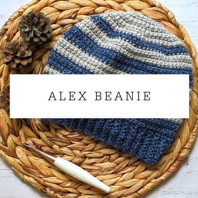Alex Beanie Crochet Pattern