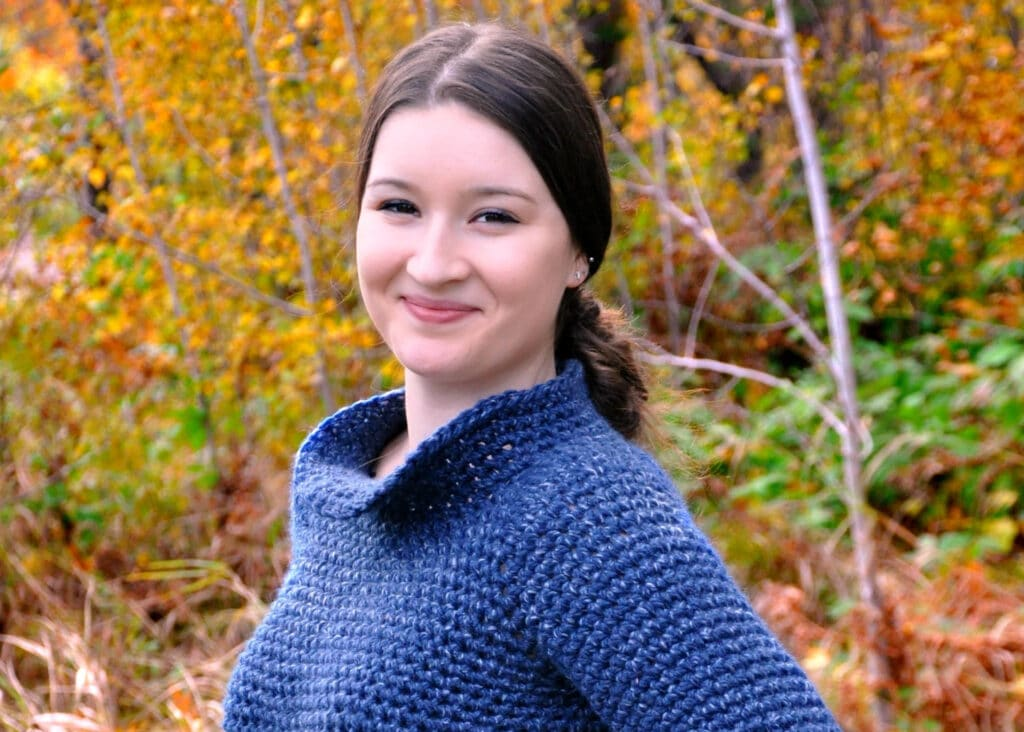 sunday sweater crochet pattern by sincerely pam
