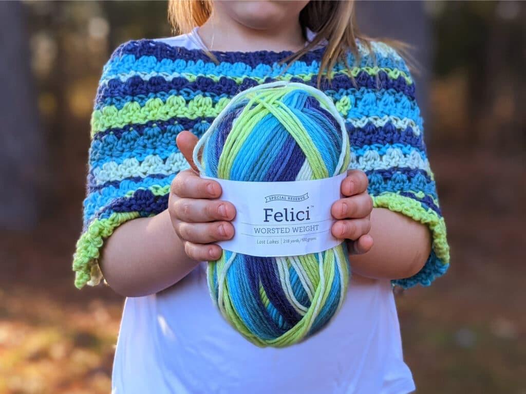 felici yarn from wecrochet