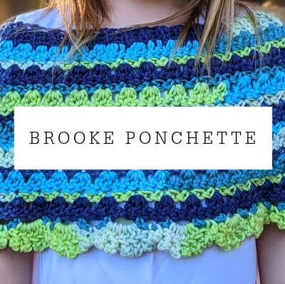 Brooke Poncho Crochet Pattern