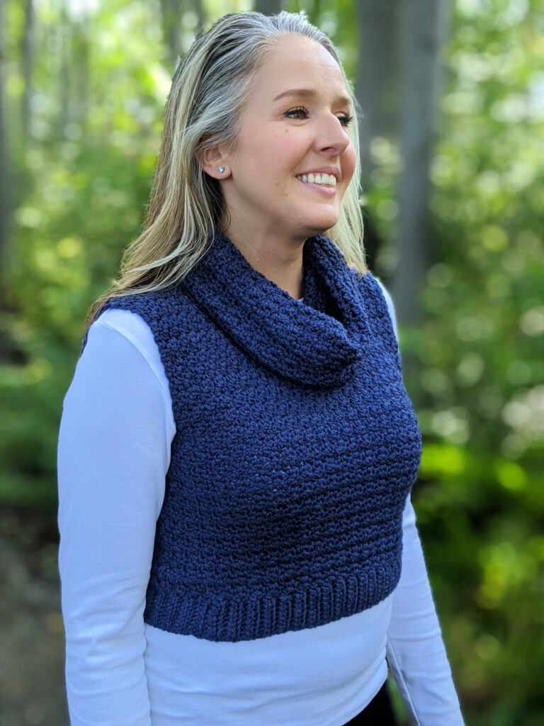 Bredele vest crochet pattern by sincerely pam