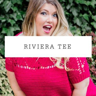 Riviera Tee Crochet Pattern for Crochet Foundry