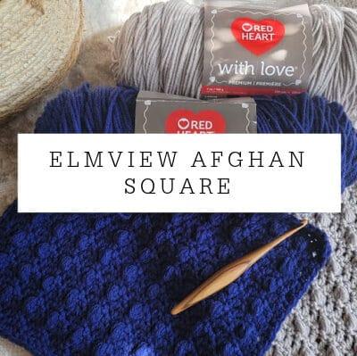 Elmview Afghan Square Crochet Pattern